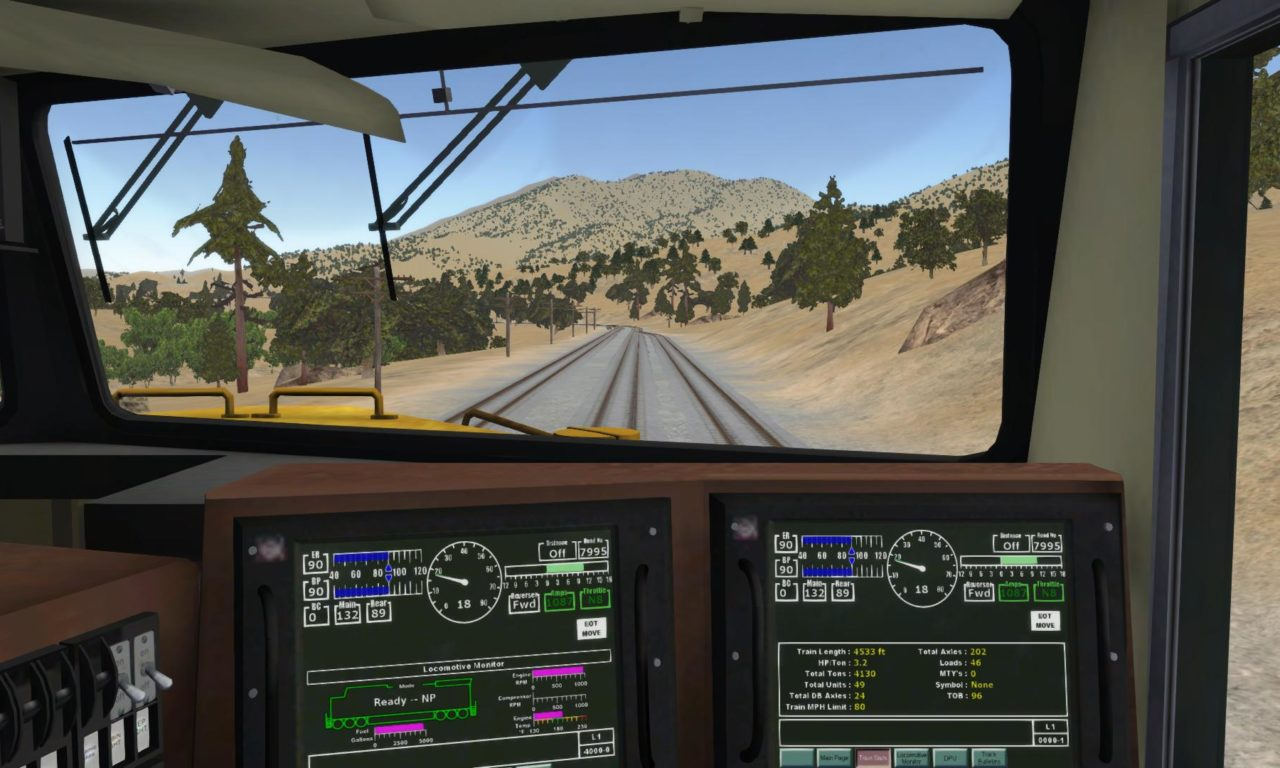 Run-8 Train Simulator