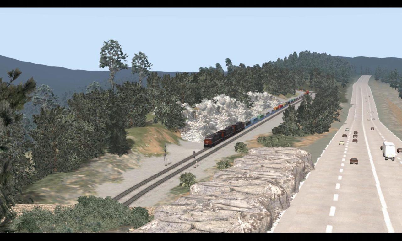 Donner Pass for Railworks