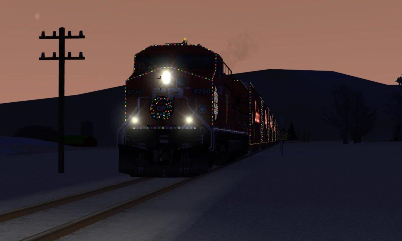 CP Holiday Train – At The Railyard